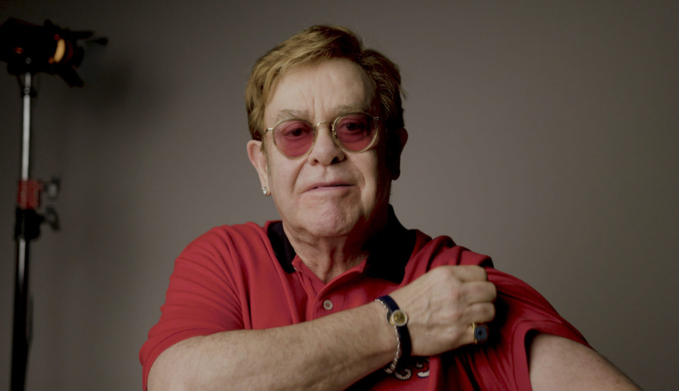 Sir Elton John and Sir Michael Caine star in video promoting COVID-19 vaccine thumbnail